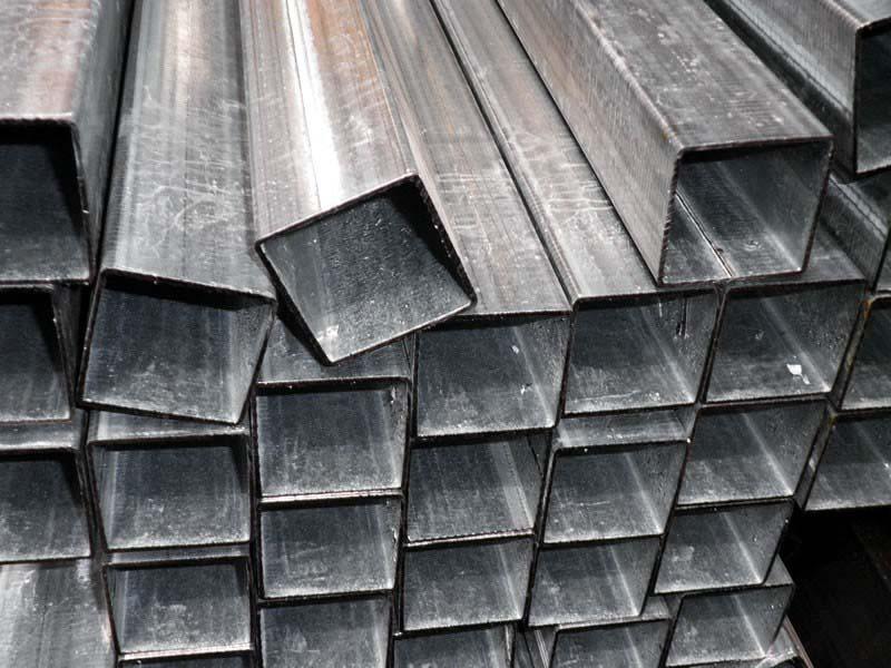 Tubo de ferro retangular galvanizado