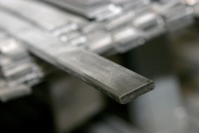 Ferro Chato Galvanizado