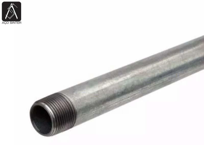 Tubo galvanizado industrial