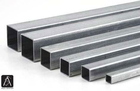 Tubo quadrado aço estrutural