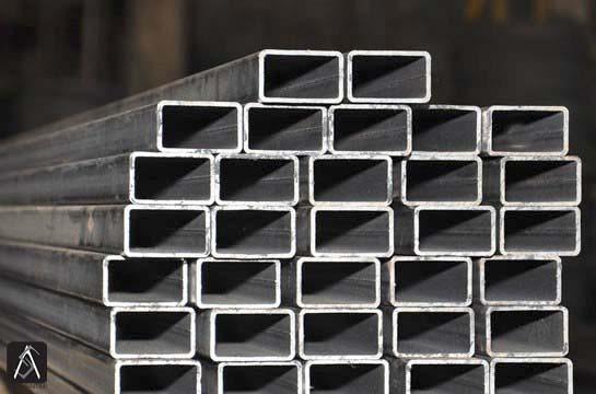Tubo quadrado em aço galvanizado
